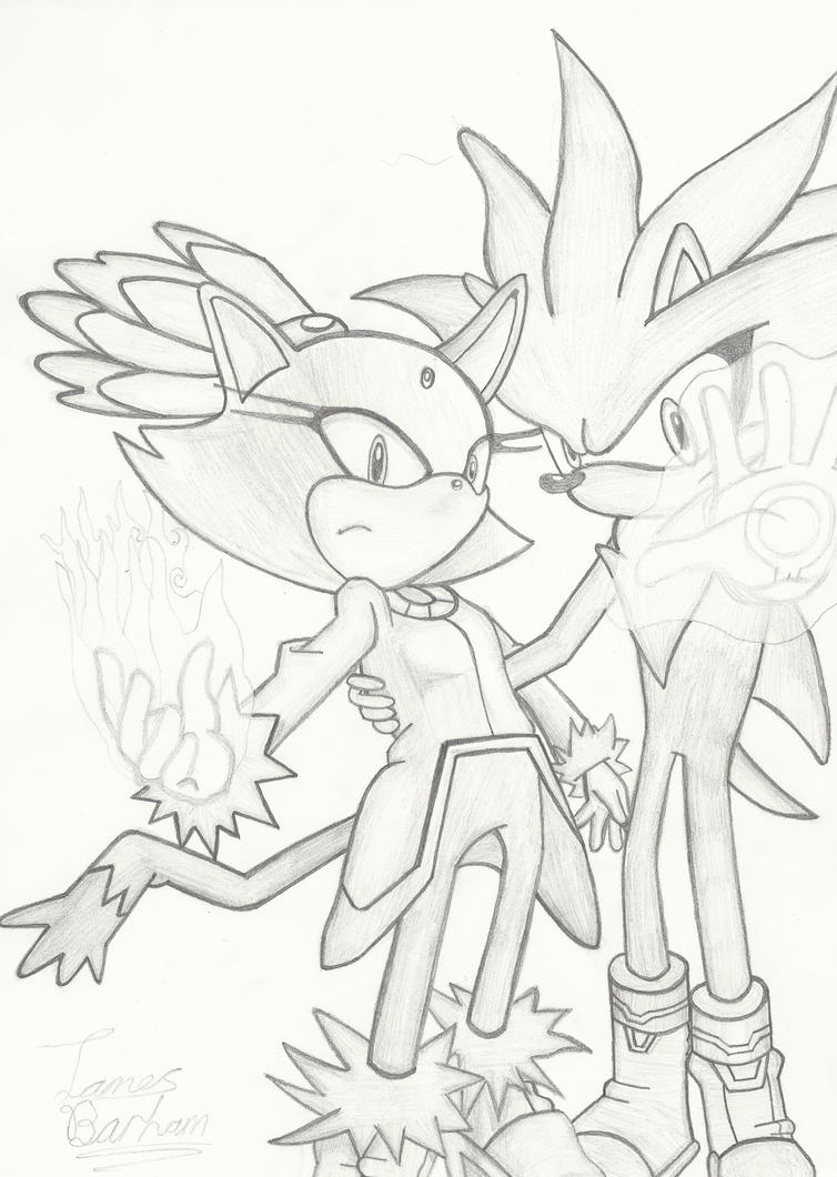 Blaze and Silver, Time and Dimensions... by geckohero17