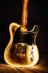 Light Painting The Guitar by Syakster
