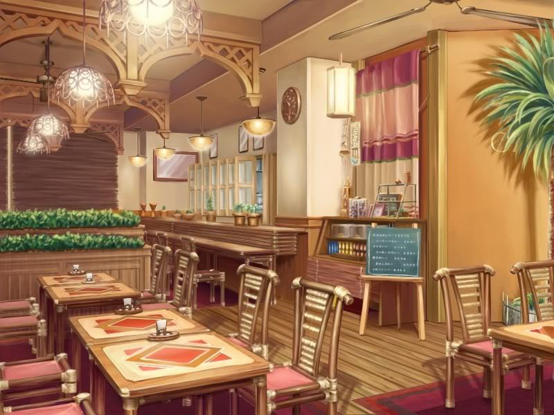 Cafe By Franfrogy On DeviantArt
