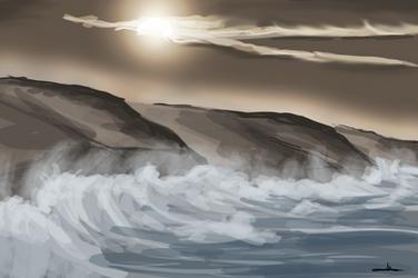 358 - Rough Coastline