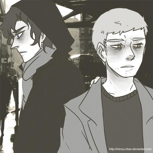 bbc Sherlock: passing ways by Minuu-chan
