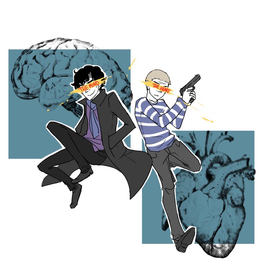bbc Sherlock: HeartxMind by Minuu-chan