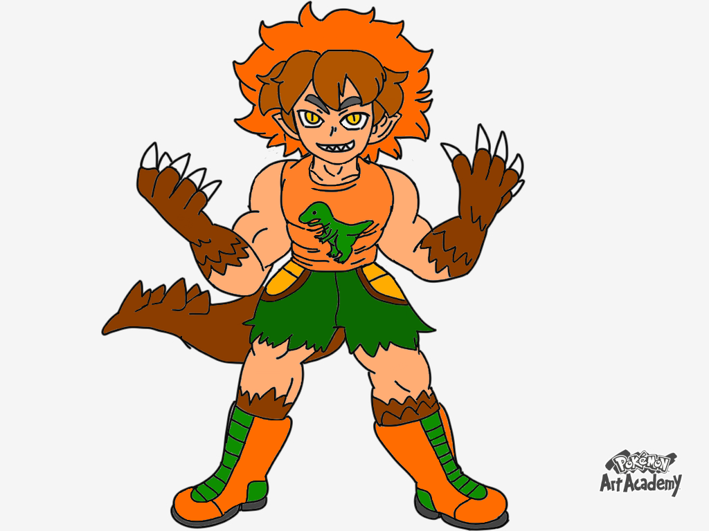 pokemon oc raptor the half human half dinosaur by pokedrogon on deviantart pokemon oc raptor the half human half