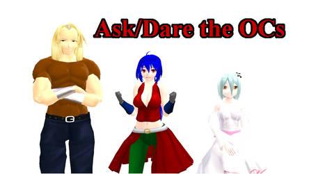 Ask/Dare OCs (Open) by CrossSCV