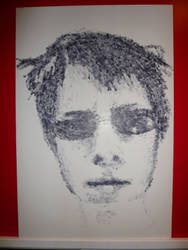 Stamped Self Portrait