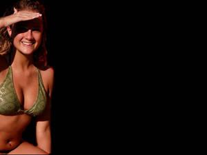 The Hot Bikini Babe