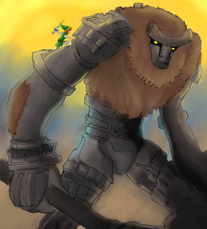 Legend of the Colossus -REDRAWN-