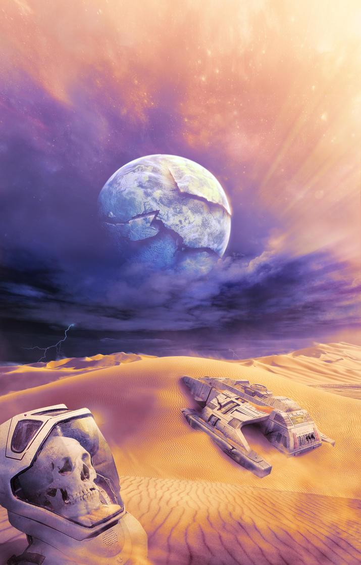 Desert Wreck by Deepblu742