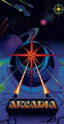 Arcadia Blaster Poster by Deepblu742