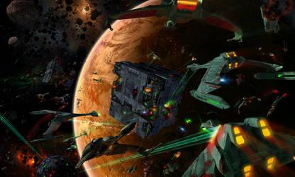 Battle For Ty'Gokor by Deepblu742