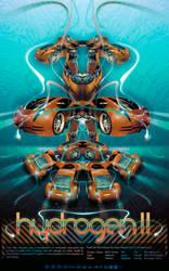 HydroGen II Poster by Deepblu742