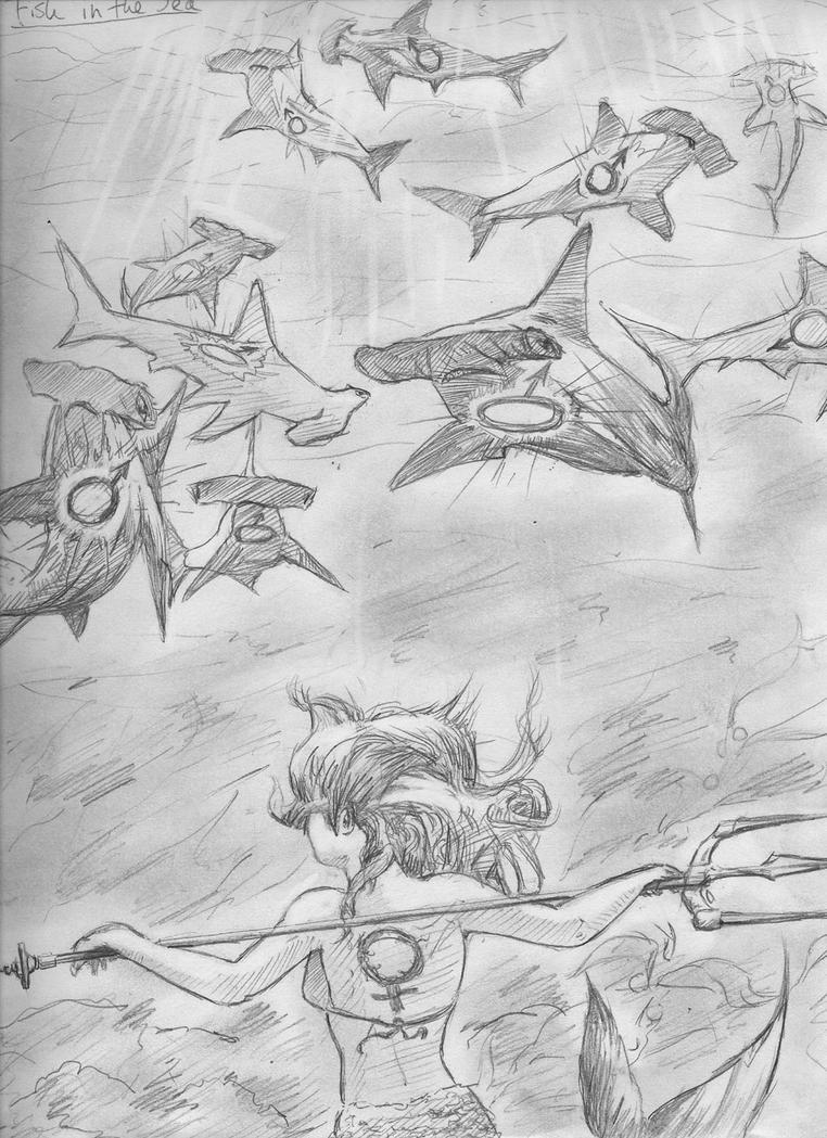 Fish in the Sea by Deepblu742