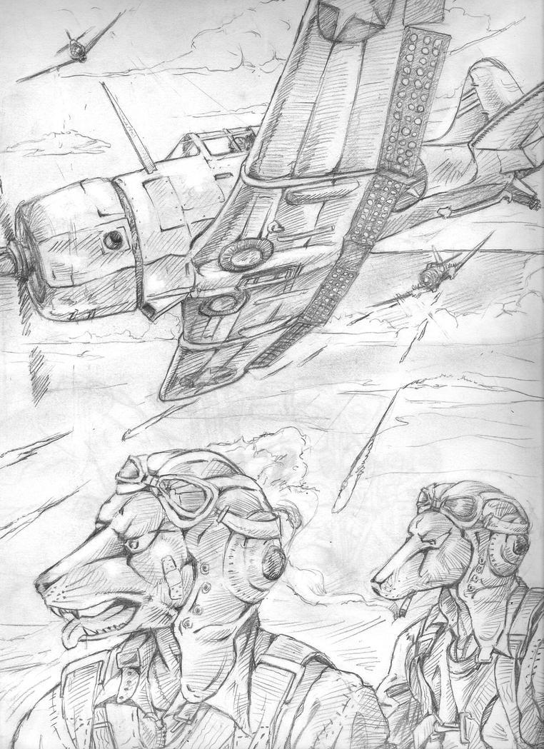 Dogfighter Series: Dauntless by Deepblu742