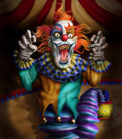 Cuddles the Clown by todd1000