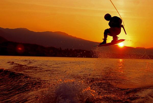 Sunset Wakeboarding By Saeny On Deviantart