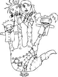 msi fan art inked