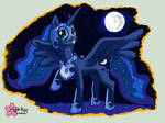 Luna -Ready for free candies-