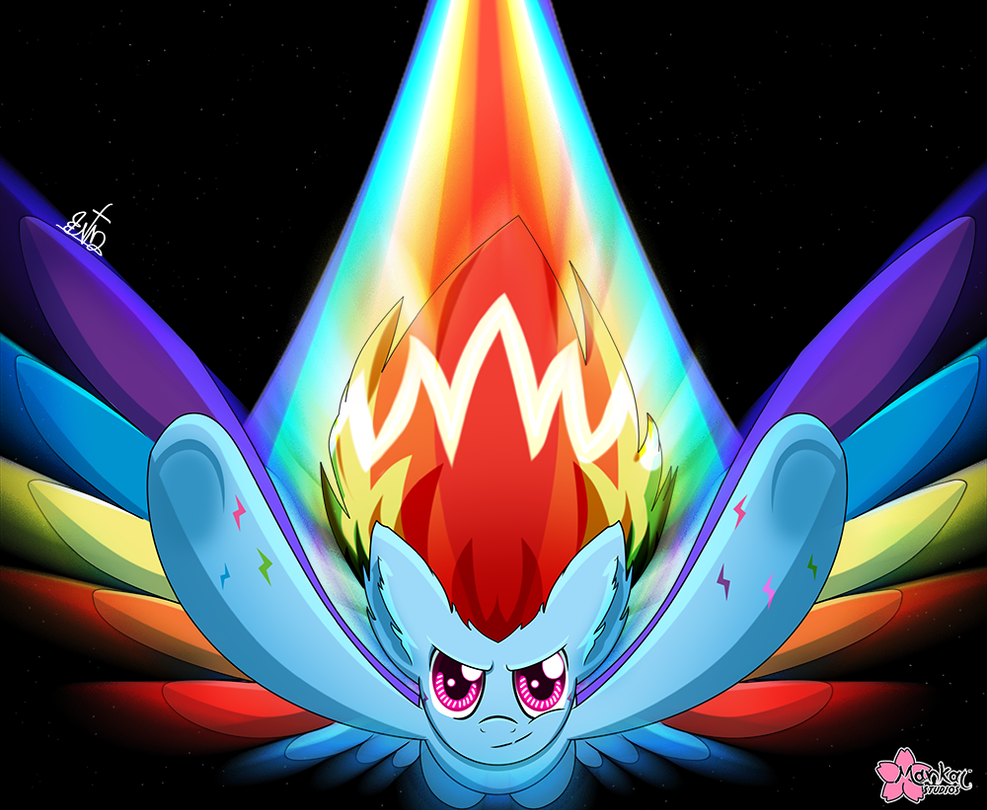 She's A Rainbow by CloudDG