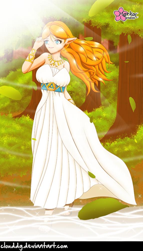 Hylian Princess by CloudDG