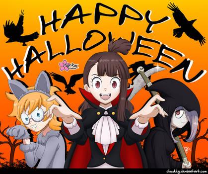 Big Top Halloween by CloudDG