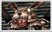 March Hare Stamp 2 by Wolena