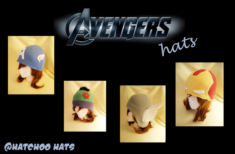 Avengers Assemble! (Hats) by sakurachan24
