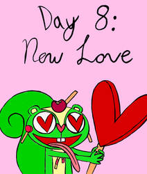 Day Eight: Heart-Shaped Love by Midnight-Lovestruck