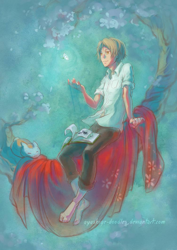 Natsume Yuujinchou by ayashige-doodles