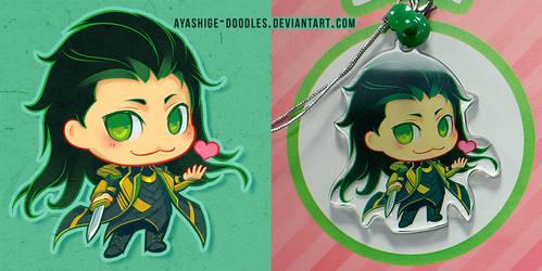 Loki Chibi by ayashige-doodles