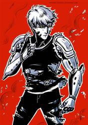 One-Punch Man: Genos by ayashige-doodles