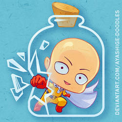 Chibi One Punch Man