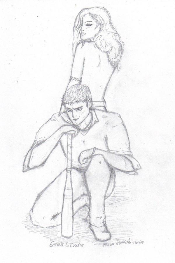 Emmett and Rosalie by spoiler91