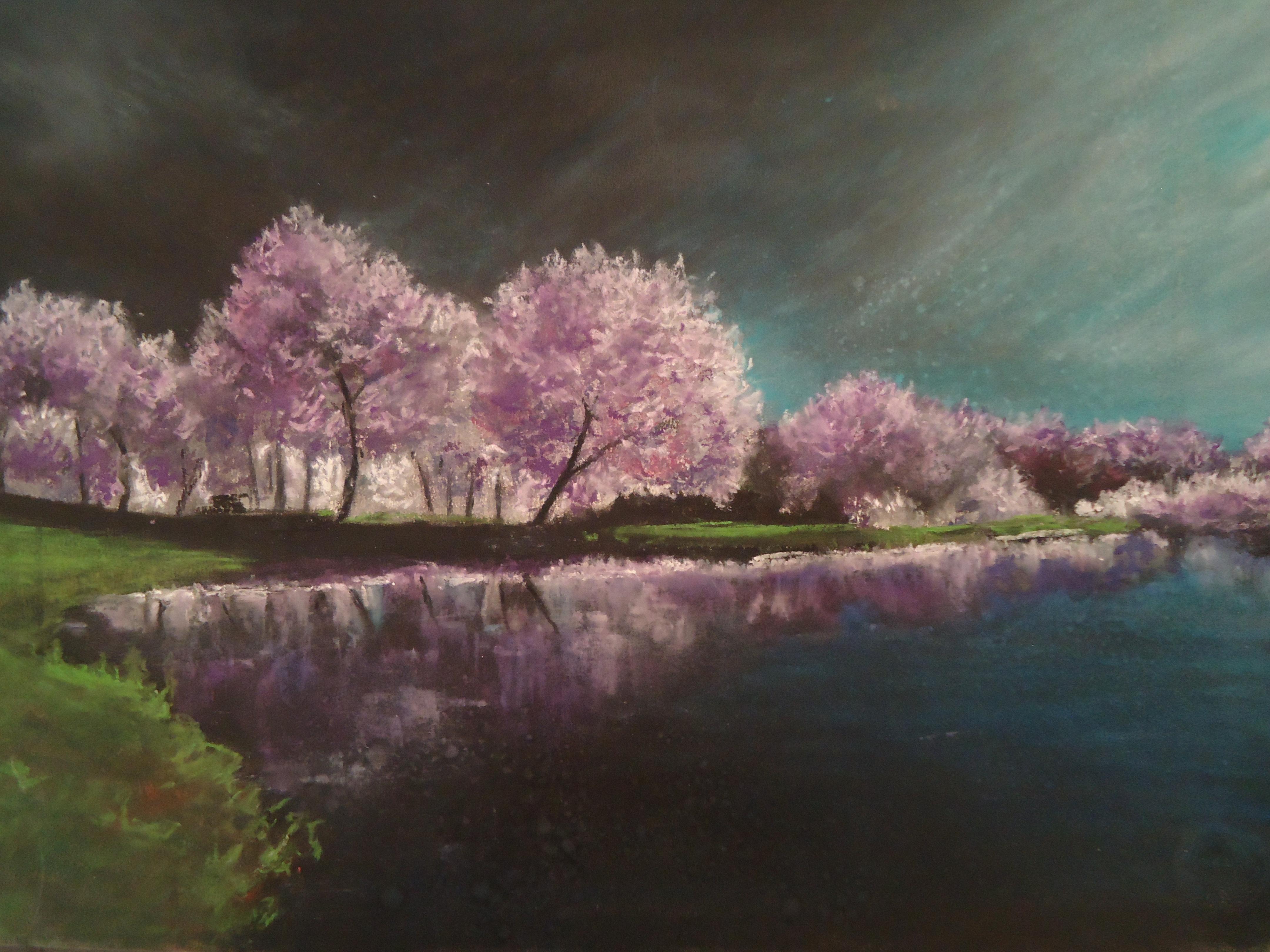 soft pastel landscape by blackblacksea on DeviantArt