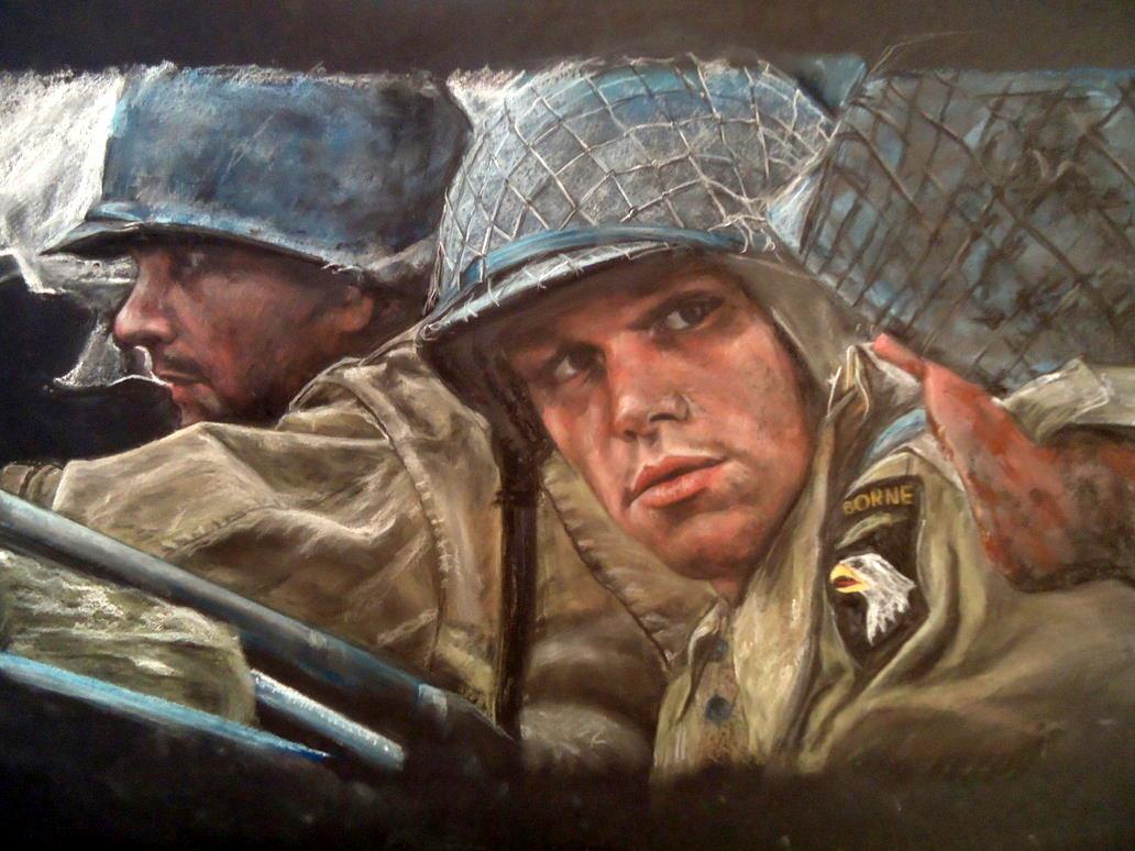 Saving Private Ryan Soft Pastel by blackblacksea