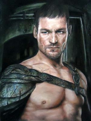 Portrait of Spartacus by blackblacksea