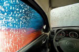 In the car wash by aronbrand