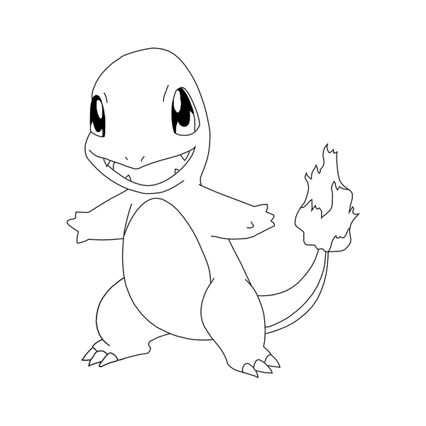 free charmander lineart by behindclosedeyes00 on deviantart