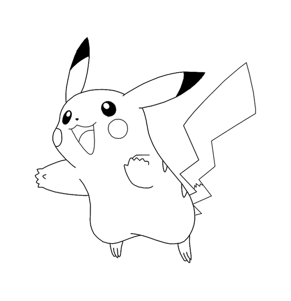 pokemon templates print - free pikachu template by behindclosedeyes00 on deviantart