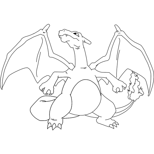 baby charizard coloring pages - photo #12