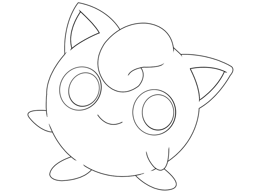 Free jigglypuff template by behindclosedeyes00 on deviantart for Jigglypuff coloring page