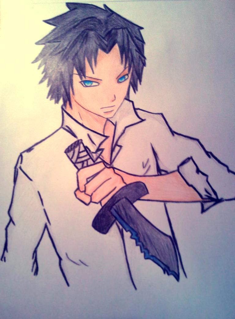 Allan Pryce Coloured by Sayra-chan