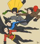 Free-falling Robins