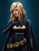 Stephanie Brown by Xinjay