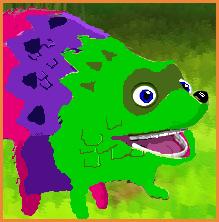 Fergy Fudgehog Pixel Art by kirbypalua