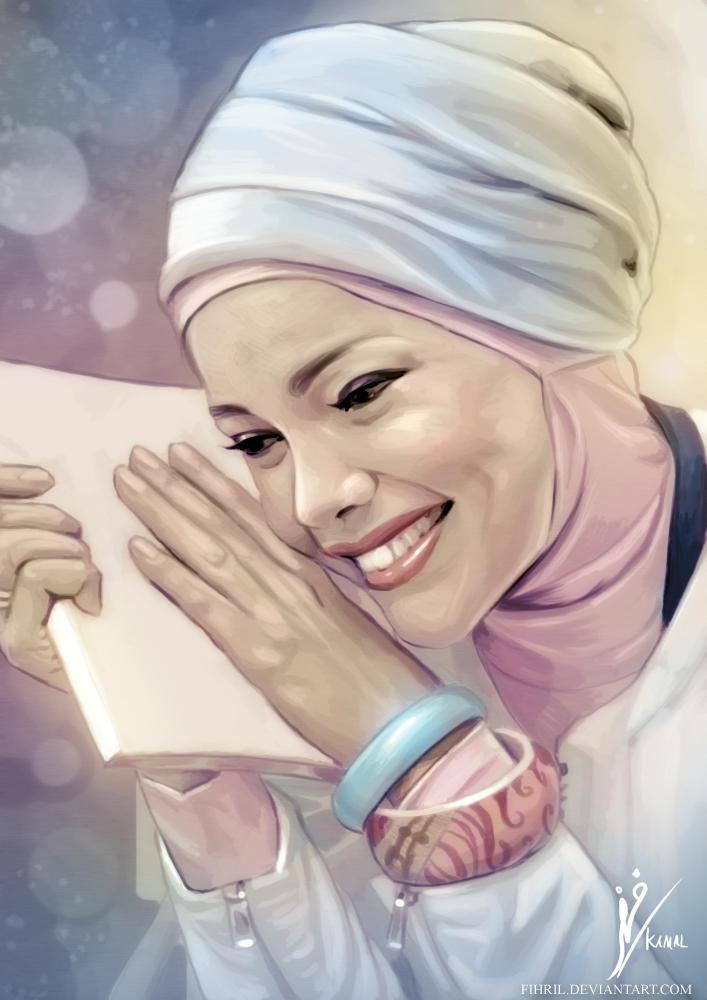 Portrait of Dewi Sandra
