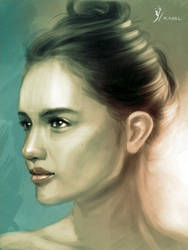 Portrait of Cinta Laura