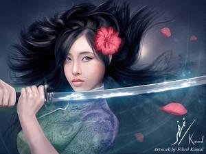 The Lightning Dragon Blade