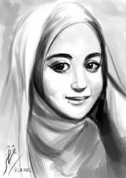 Portrait of Nabilah Ratna Ayu Azalia
