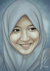 Portrait of Ratu Vienny Fitriliya