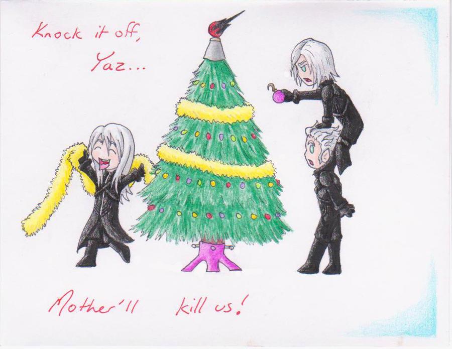 Christmas Card 17 :: The Tree by KalaSathinee